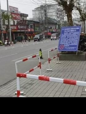 宿松路部分路段实行车辆禁停,通行效率大大